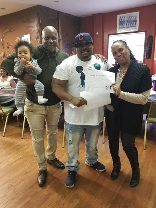 Bobby Brown & family