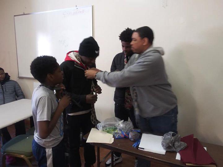 Teaching youth-Demetrius