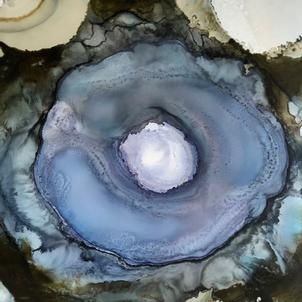 Nebula Geode Blue