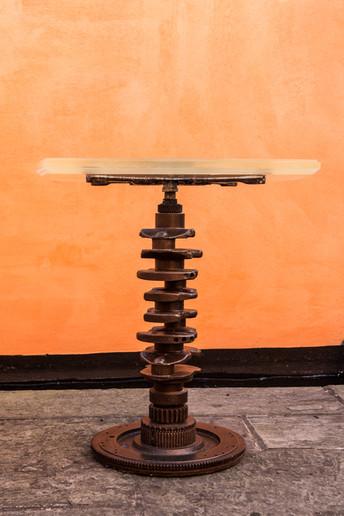Crank Shaft and Acrylic table