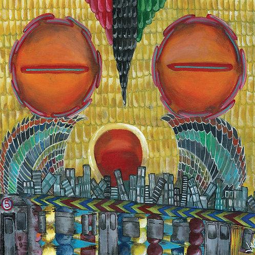 Native Eyez [EP] - 4 Panel Eco-wallet CD