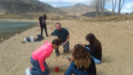 Hydrology class at Bear Creek