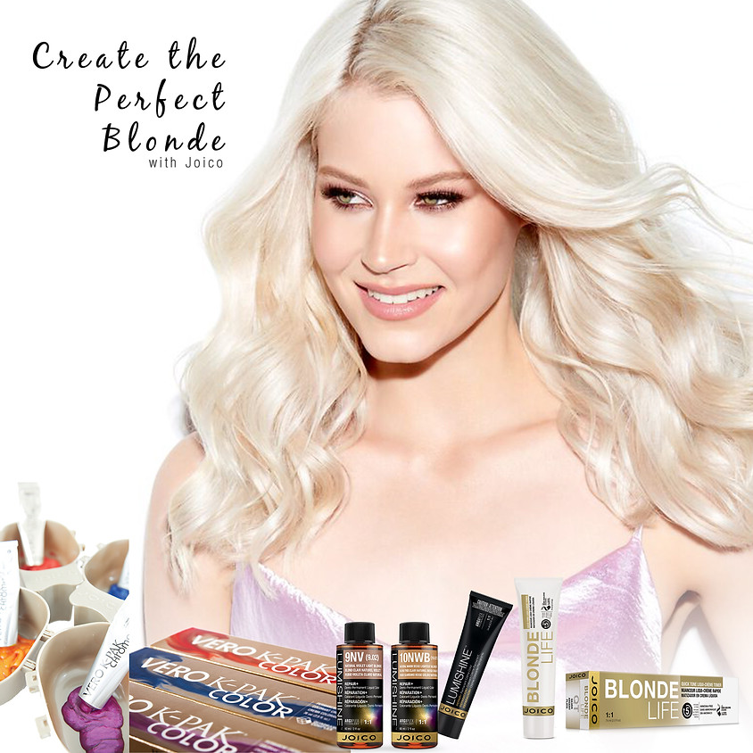 Create the Perfect Blonde with Joico
