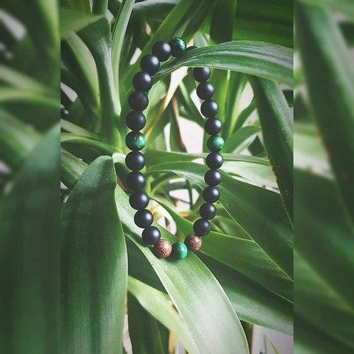 Amulet z zielonym Tygrysim Okiem