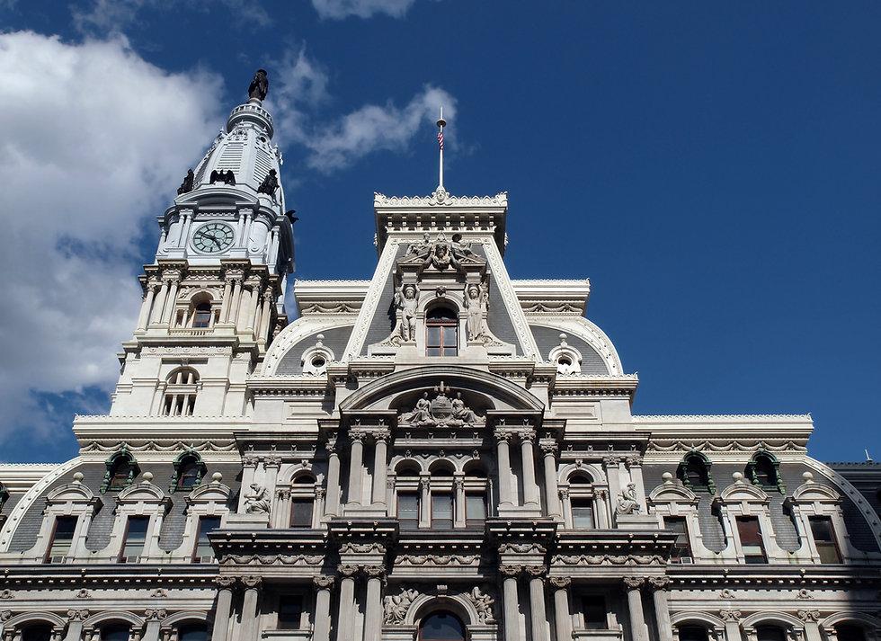 Philadelphia's landmark historic City Ha