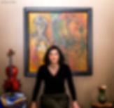 Artiste peintre, Artist painter,Catherine soucy, Québec, Quebec