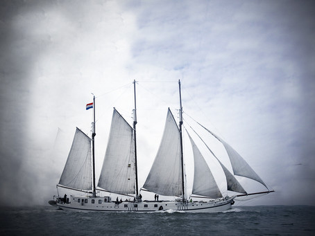 Sailing Clipper Elizabeth