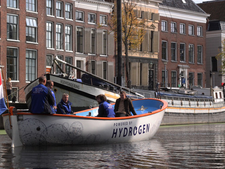 1st full hydrogen- powered resqueboat (2020)