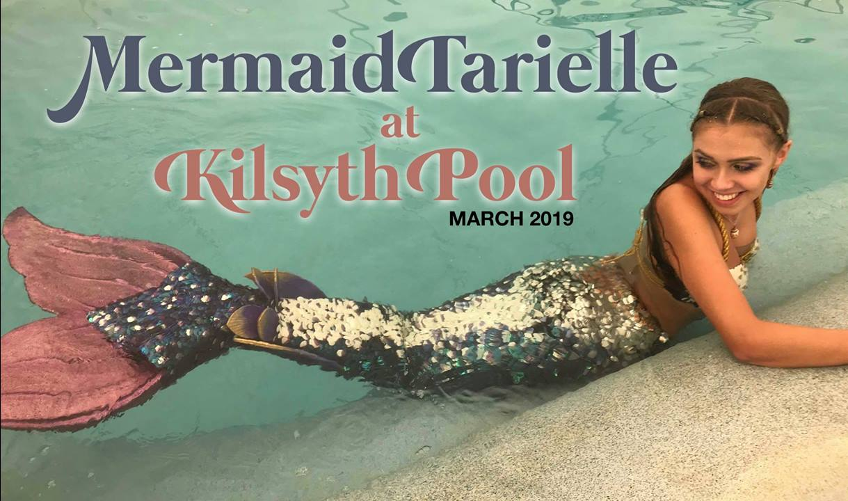 Mermaid Tarielle at Kilsyth Pool