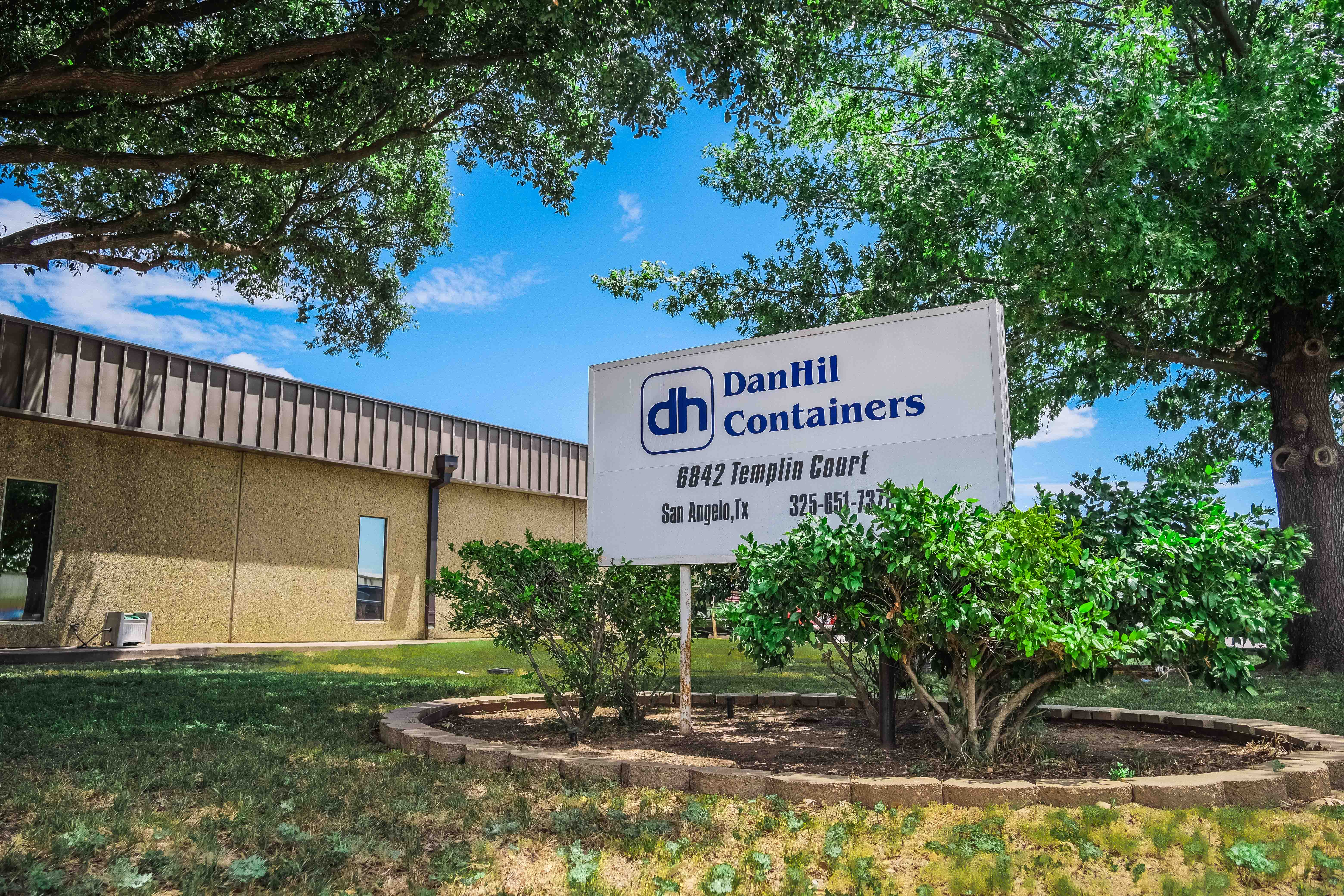 DanHil Containers San Angelo, TX