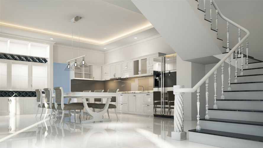 Real Estate 3D Rendering Service