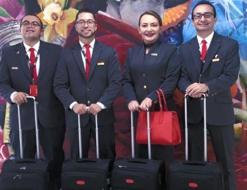 La Tripulación de GCA cuenta con una Gran Experiencia en la aviación Colombiana