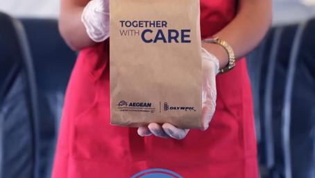 Aegean Airlines en el top ranking de las aerolíneas certificadas en sus procesos de higiene.