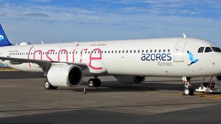 Azores Airlines rompió el récord de mayor distancia de vuelo de un Airbus 321LR Neo