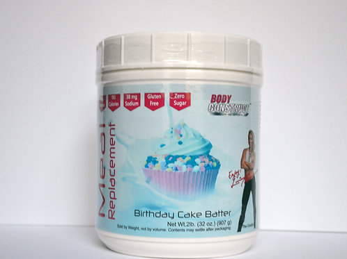 Birthday Cake Batter Meal Replacement