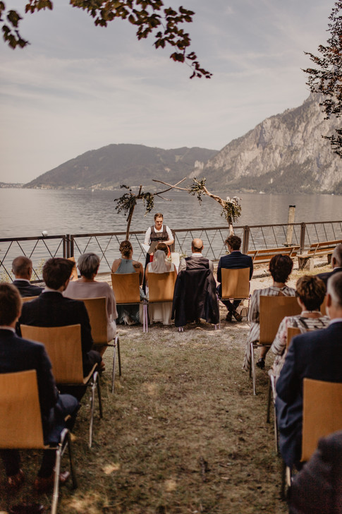 Fotograf Hochzeit am Traunsee in Oberöstereich