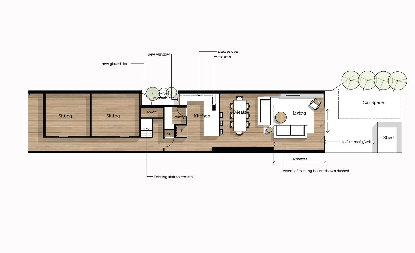 Concept Plan Fitzroy North