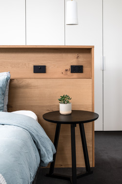 Thornbury House Master Bed Joinery