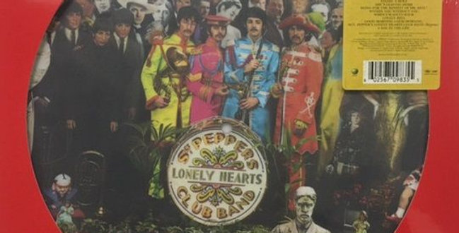 The Beatles - SGT. Pepper's Lonely Hearts Club Band - Picture Disc (novo)