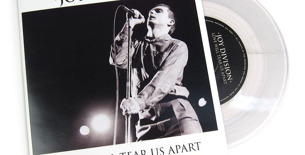 "Joy Division - Love Will Tears Apart - 7"" (novo)"