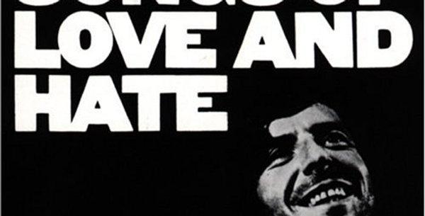 Leonard Cohen - Songs of Love and Hate (novo)