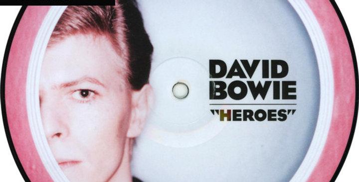 """David Bowie - Heroes 7""""- (novo)"""