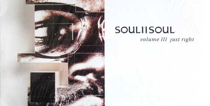 Soul II Soul - Volume III Just Right (usado)