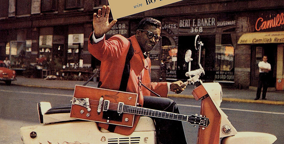 Bo Diddley - Have Guitar Will Travel Wire Bo Diddley (usado)