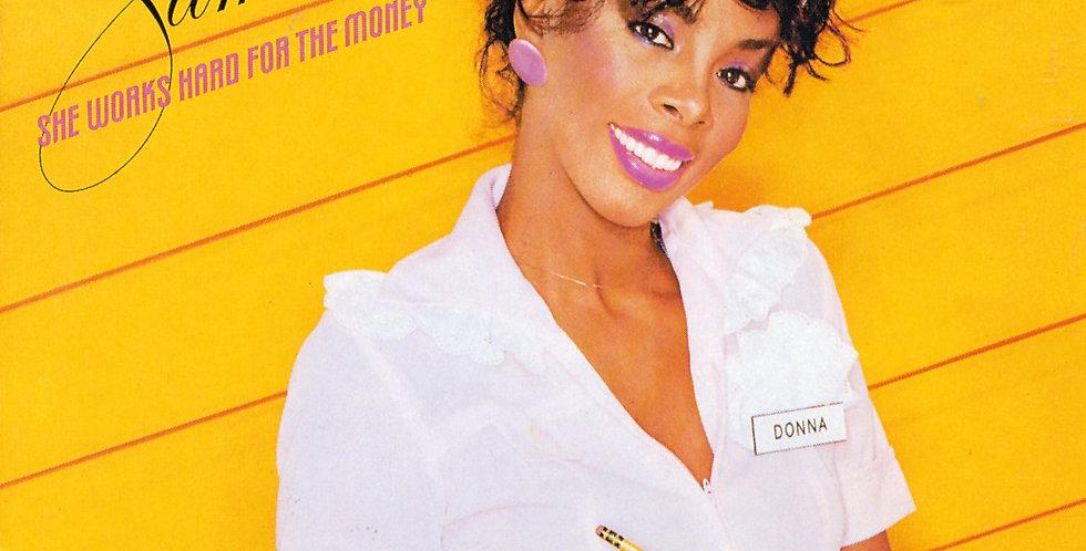 Donna Summer - She World Hard For The Money (usado)