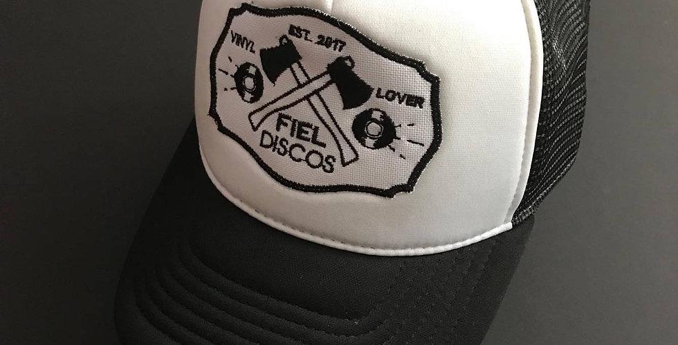 Black Fiel Discos hat - Trucker