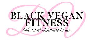 Black Vegan Fitness Logo