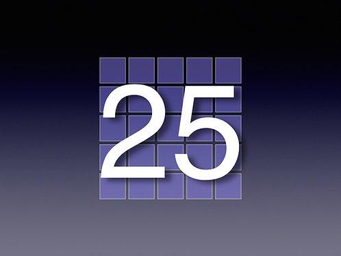 25 hr. prepaid block ($139/hr)