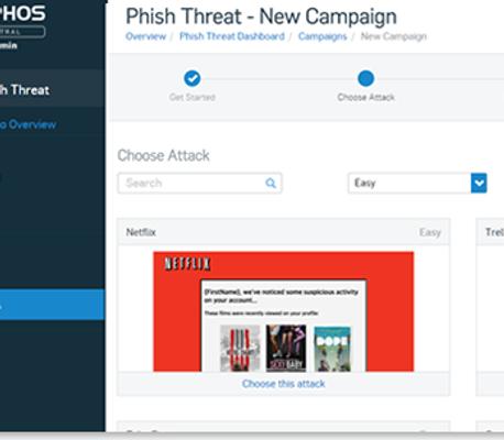 Phishing Campaign - 1 year