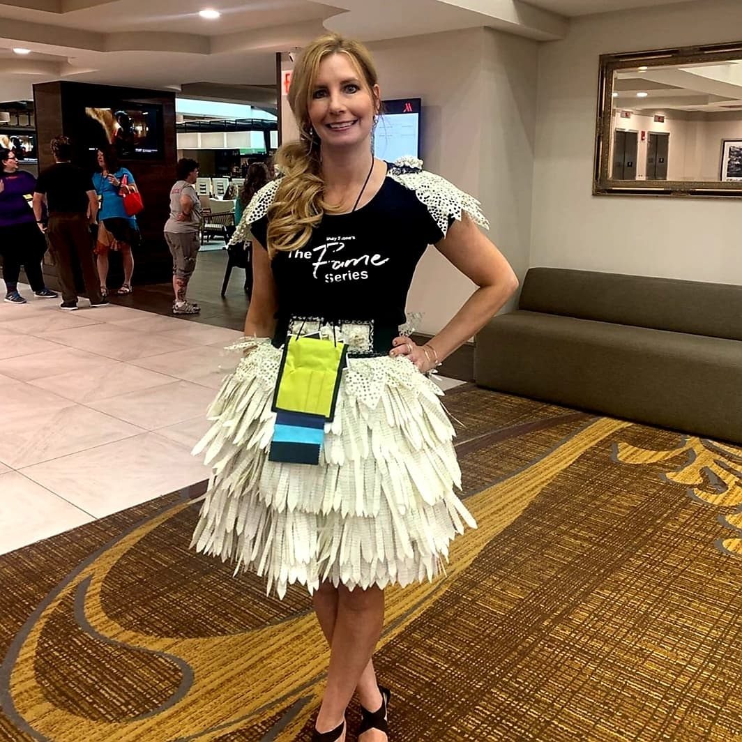 The Book Dress I made for Literary Love 2019