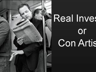 Real Investor or Con Artist?