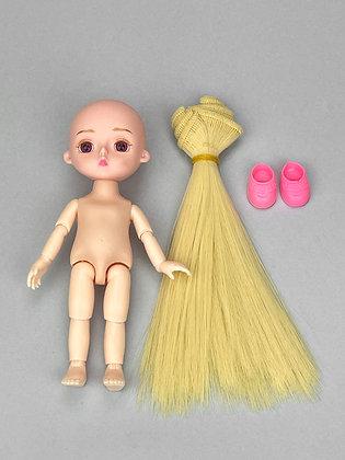 Набор для создания причёски кукле НШВ01