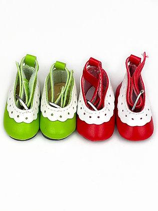 """Туфли для кукол """"Ромашка"""", набор 2 пары 4,5 см"""