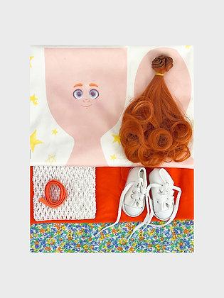 Набор материалов для шитья куклы 3512