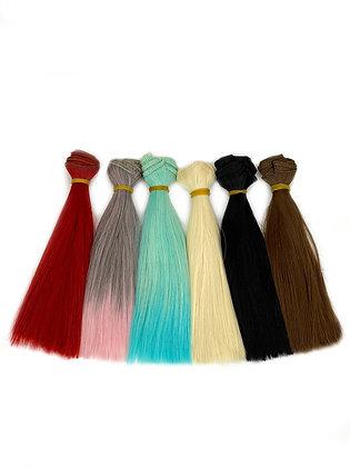 Волосы-трессы для кукол локон, набор 6 шт