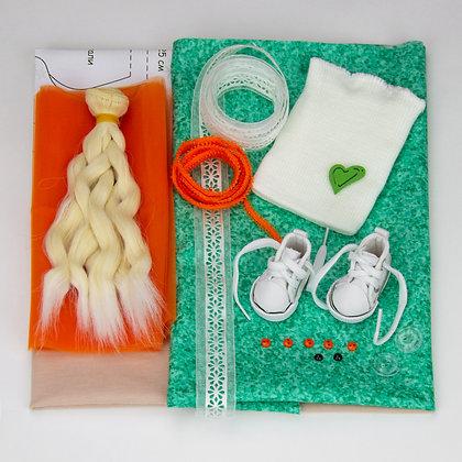 Набор материалов для шитья куклы 2502