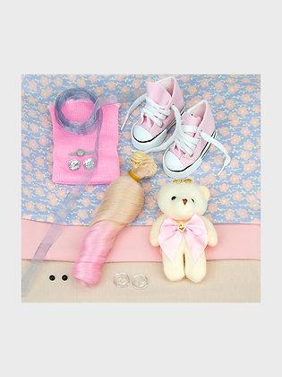 Набор материалов для шитья куклы 3518