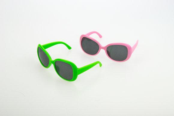 Очки для кукол BJD. Набор 2 шт. Цвет: розовый, зеленый.