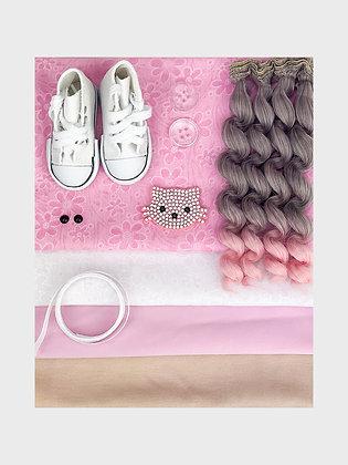 Набор материалов для шитья куклы 3516