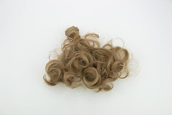 Волосы-трессы для кукол кудри 15 см