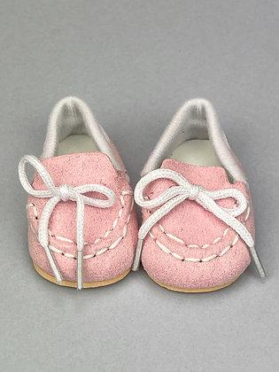 Туфли  для кукол из экозамши 7 см