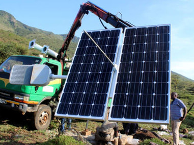 The scenario of development of solar panel plant and module performance estimation − Application in