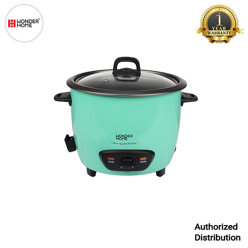 WH-RC-700 Wonder Home 1.8 Liter Automatic Rice Cooker (Green)