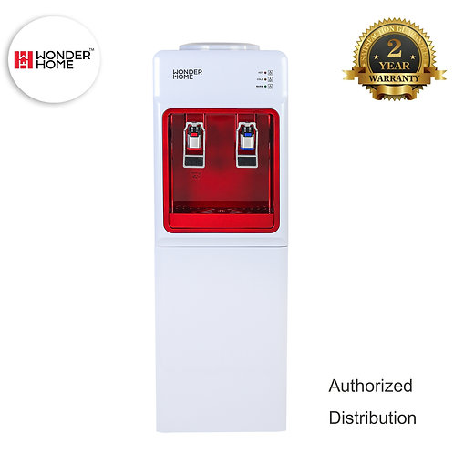 WH-W-D1 Wonder Home Hot & Cold Top Loading Water Dispenser With Storage Cabinet