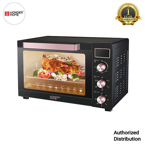 WH-O-35D Wonder Home LCD Display Electric Oven 35 Liter 1500W