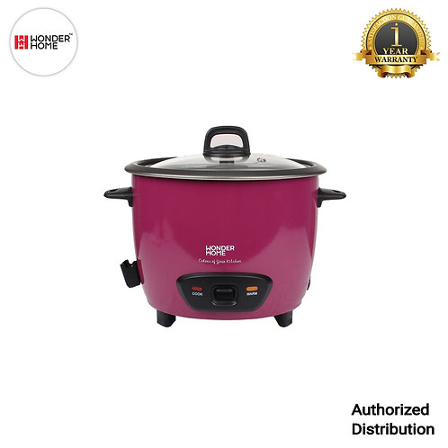 WH-RC-700 Wonder Home 1.8 Liter Automatic Rice Cooker (Purple)